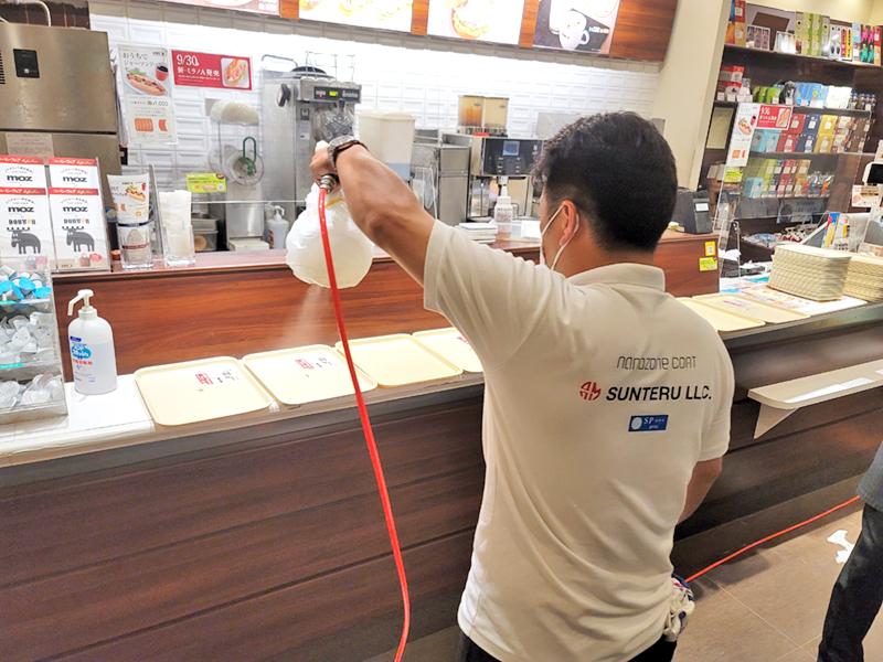 ドトールコーヒーショップ鹿児島中町店 様